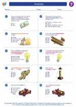 Social Studies - Sixth Grade - Worksheet: Inventors