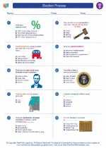 Social Studies - Fourth Grade - Worksheet: Election Process