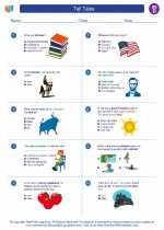 Social Studies - Fourth Grade - Worksheet: Tall Tales