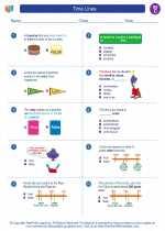 Social Studies - Third Grade - Worksheet: Time Lines