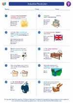 Social Studies - Sixth Grade - Worksheet: Industrial Revolution