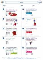 Mathematics - Fourth Grade - Worksheet: Mean