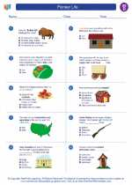 Social Studies - Fourth Grade - Worksheet: Pioneer Life