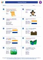 Social Studies - Fifth Grade - Worksheet: Colonial Period